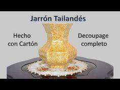 Vases, Diy Crafts For Home Decor, Paper Vase, Art Tutorials, Youtube, Ideas, Recycle Art, Vase Crafts, Milk Box
