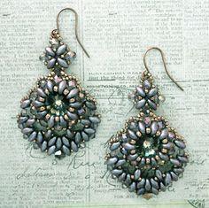 Linda's Crafty Inspirations: YouTube Beading Tutorial - Tango Earrings