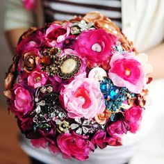 Hey, I found this really awesome Etsy listing at http://www.etsy.com/listing/162472639/full-price-fabric-flower-wedding-bouquet