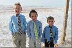 Keeping it Simple: Little boys tie, with pattern.  Perfect for Easter
