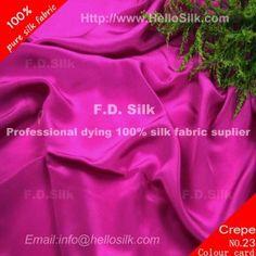 http://www.silkfabricwholesale.com/16mm-silk-crepe-de-chine-fabric-plum-purple.html     F.D. silk most professional 16mm silk crepe de chine fabric-plum purple supplier.
