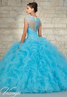 Quinceanera Dresses Blue | Download our FREE Quince App here: https://itunes.apple.com/us/app/quinceanera.com/id1084512701?mt=8