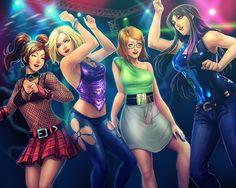 Clubbin+by+MaHenBu.deviantart.com+on+@DeviantArt
