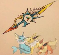 weapon based on pokemon