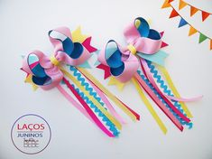 Imagem relacionada Kids Hair Bows, Baby Hair Clips, Baby Hair Bows, Ribbon Hair Bows, Girls Bows, Baby Tiara, Baby Girl Hair Accessories, Cute Headbands, Hair Decorations
