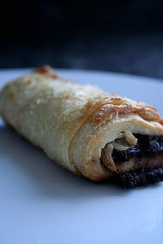 Chocolate Filled croissants. Yes please.