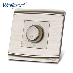 Free Shipping 2017 Hot Sale China Manufacturer Wallpad Luxury Push Button Wall Light Switch Dimmer