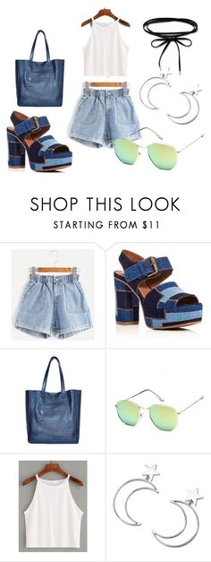 """""""Baby Jean"""" by coconut-nutella ❤ liked on Polyvore featuring See by Chloé, Ana Accessories and Thomas Sabo"""