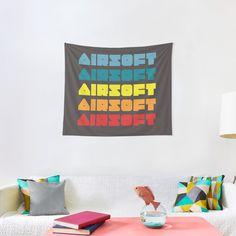 Promote | Redbubble Airsoft, Wall, Home Decor, Decoration Home, Room Decor, Walls, Home Interior Design, Home Decoration, Interior Design