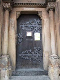 vestry door hinge by tina negus on flickr | medieval doors | Pinterest | Photos Doors and In & vestry door hinge by tina negus on flickr | medieval doors ...