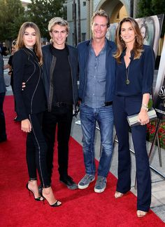 Cindy Crawford and Rande Gerber Turn Kaia's Acting Debut Into a Lovely Family…