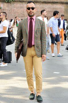 PITTI UOMO #fashion #style #menswear