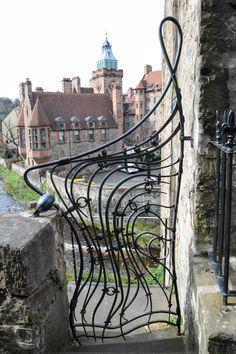 Edinburgh, Garden gate in the Dean Village (L) (Wil Romantic Vacations, Romantic Getaway, Romantic Travel, England And Scotland, Edinburgh Scotland, Dean Village Edinburgh, Scottish Holidays, Castle On The Hill, Cairngorms