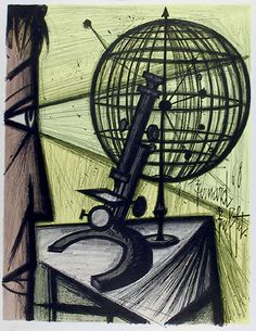 Bernard Buffet ~ Microscope