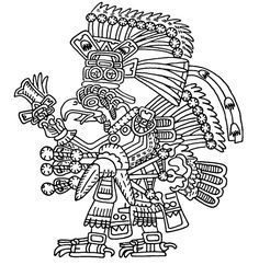 Mexico - Teotihuatecan Knight-Eagle