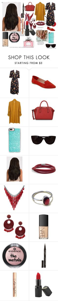 """Fuel."" by it-srabina ❤ liked on Polyvore featuring Sigerson Morrison, American Vintage, Armani Jeans, Casetify, Tiffany & Co., Alexa Starr, Lazuli, Kenneth Jay Lane, NARS Cosmetics and Smith & Cult"