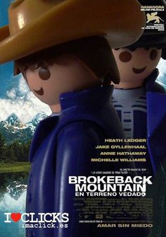 Playmobil Movie Poster Series: Brokeback Mountain