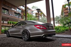 Mercedes Benz cls 63 + Vossen CV4
