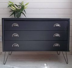 NOW SOLD  Hand Painted Chests of Drawers