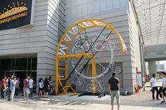 Bike Hanger - Bicycle Storage, New York, USA - Manifesto Architecture