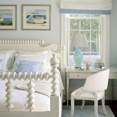 Serene Space - 30 Beautiful Beachy Bedrooms - Coastal Living