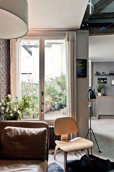 Roof top apartment, Paris