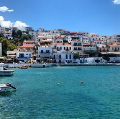 The city of is the most touristy and picturesque spots on the island of Andros, This island still remains fairly untouched though by the throngs of people who visit the Cyclades islands each year. (Photo via Andros Greece, Karpathos Greece, Places To Travel, Places To Visit, Places In Greece, National Geographic Travel, Greek Beauty, Greece Islands, Explorer