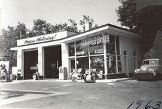 60's service station
