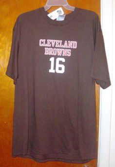 Cleveland Browns / Josh Cribbs Official Shirt Youth XL