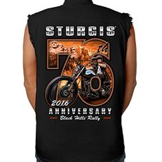 Biker Life USA 2016 Sturgis 76th Rushmore Rider Cutoff Denim Shirt http://bikeraa.com/biker-life-usa-2016-sturgis-76th-rushmore-rider-cutoff-denim-shirt/