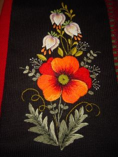 Marvelous Crewel Embroidery Long Short Soft Shading In Colors Ideas. Enchanting Crewel Embroidery Long Short Soft Shading In Colors Ideas. Brazilian Embroidery Stitches, Hungarian Embroidery, Learn Embroidery, Silk Ribbon Embroidery, Crewel Embroidery, Flower Embroidery, Embroidery Needles, Embroidery Designs, Embroidery Kits