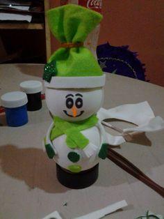 Fofucho muñeco de nieve