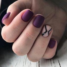 Colorful nails Festive nails Matte nails Nail designs for short nails Nails with stones New years nails Painted nail designs Two color nails Two Color Nails, Nail Colors, Short Nail Designs, Best Nail Art Designs, Yellow Nails Design, Romantic Nails, Nail Art Design Gallery, Funky Nail Art, Short Nails Art