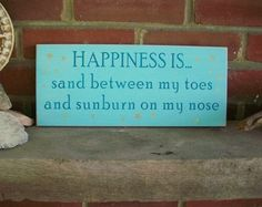 Sand between my Toes and Sunburn on my Nose Wood Beach Sign via CountryWorkshop aesthetic aesthetic surgery job job before and after remodelling Cute Quotes, Great Quotes, Words Quotes, Sayings, Inspirational Quotes, I Love The Beach, My Love, Beach Wood Signs, Down South