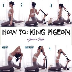 """Mi piace"": 2,060, commenti: 25 - Jasmine Chong (@jasmine_yoga) su Instagram: ""#JasmineYogaTutorial : #KingPigeon One of the nicest backbends IMO and one that I really wanted to…"""