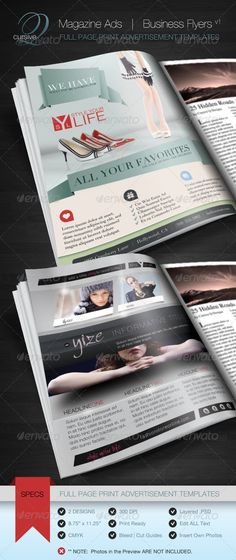 23 best print ad templates images on pinterest leaflet design