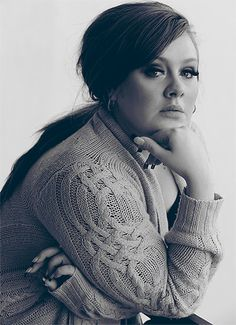 Adele is amazing.  I love love love her.