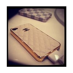 Chanel iPhone case ❤ liked on Polyvore featuring instagram, phone, electronics, pictures and photo