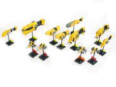 #Tabletop #Lego #spaceship set