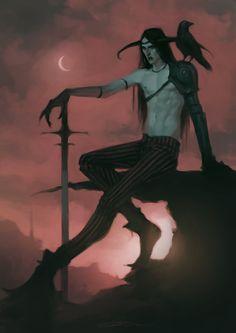 by jodeee on DeviantArt Dark Fantasy Art, Fantasy Artwork, Dark Art, Character Inspiration, Character Art, Memes Arte, The Ancient Magus, Horror Art, Fantasy Creatures