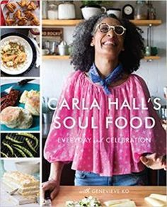 Beloved TV chef (ABC's Emmy Award-winning The Chew and fan favorite on Bravo's Top Chef), Carla Hall takes us back to her own Nashville roots to offer a fresh, lip-smackin' look at America's favorite comfort cuisine.In Carla Hall's Soul. Carla Hall, Black Eyed Pea Salad, Black Eyed Peas, Yotam Ottolenghi, Soul Food Cookbook, Bravo Top Chef, Roasted Okra, Sweet Potato Pudding, Tv Chefs