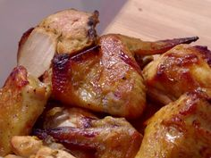 Baked Sticky Honey Chicken recipe from Jamie Deen via Food Network