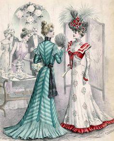 Victorian Fashion - 1900: