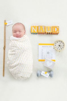 Geboortekaart Naud - Birth announcement - newborn photography