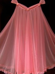 I received a chiffon nightgown with matching robe in the color of this baby doll at my bridal shower! LOL!