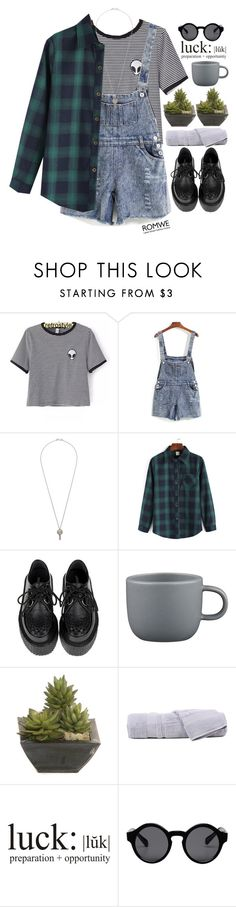"""#Romwe"" by credentovideos ❤ liked on Polyvore featuring moda, CB2, Lux-Art Silks, Hamam e Monki"