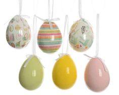 Húsvéti tojás szett Easter Eggs, Christmas Bulbs, Holiday Decor, Easter, Christmas Light Bulbs