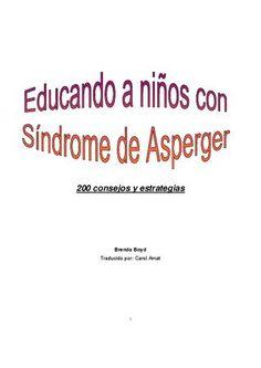"""CÓMO EDUCAR A NIÑOS con Síndrome de Asperger"""