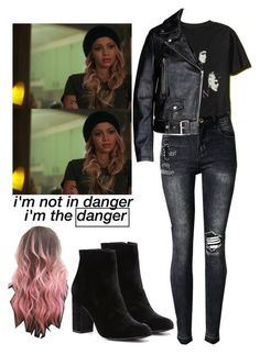Toni Topaz / Riverdale by demiwitch-of-mischief on Polyvore featuring Topshop and LE3NO   send ...