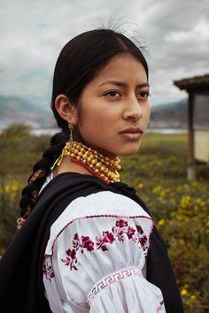 Diana, à Otavalo, Équateur